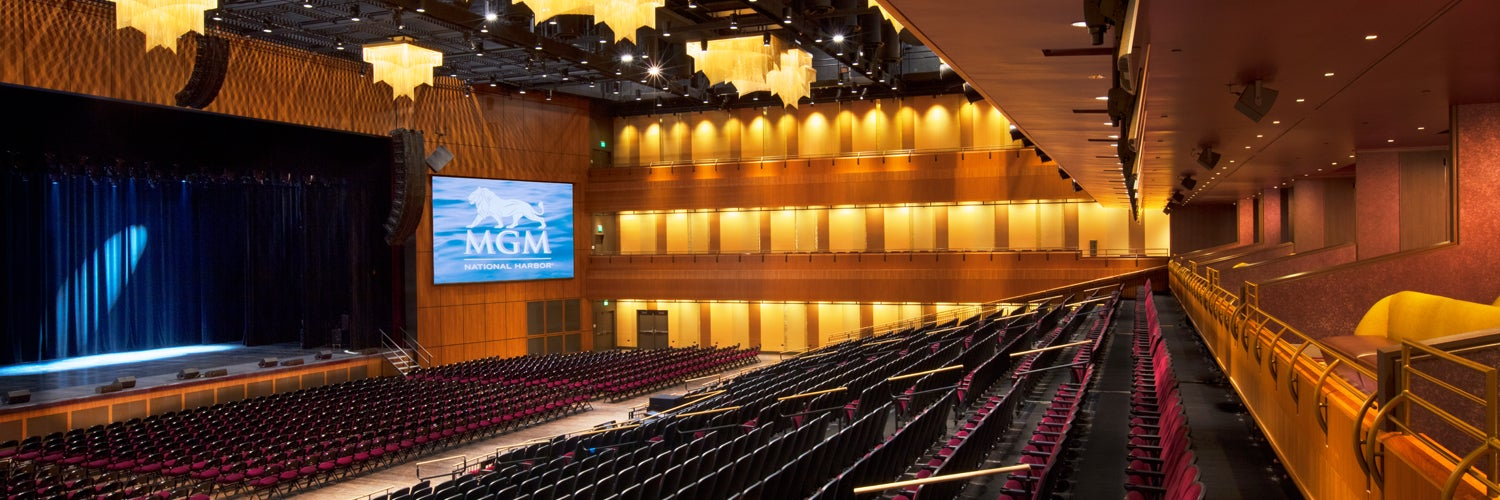 The Theater at MGM National Harbor - National Harbor Tickets