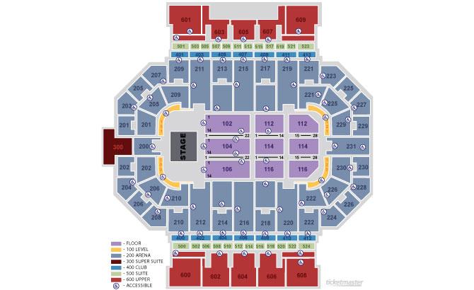 Allen County War Memorial Coliseum Seating Diagram - Product Wiring