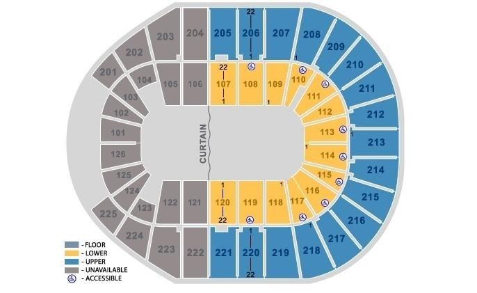Verizon Arena - North Little Rock Tickets, Schedule, Seating Chart