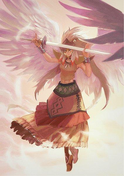 Native American Wallpaper Iphone Guardian Eatos Yu Gi Oh Duel Monsters Zerochan Anime