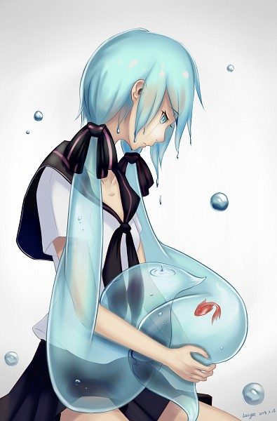 Sad Girl Mobile Wallpaper Hatsune Miku Mobile Wallpaper 1428836 Zerochan Anime