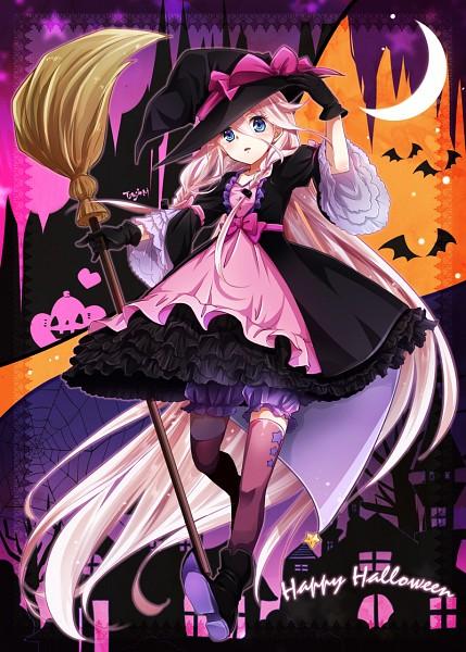 Cute Halloween Cat Wallpaper Ia Vocaloid Mobile Wallpaper 1936737 Zerochan Anime