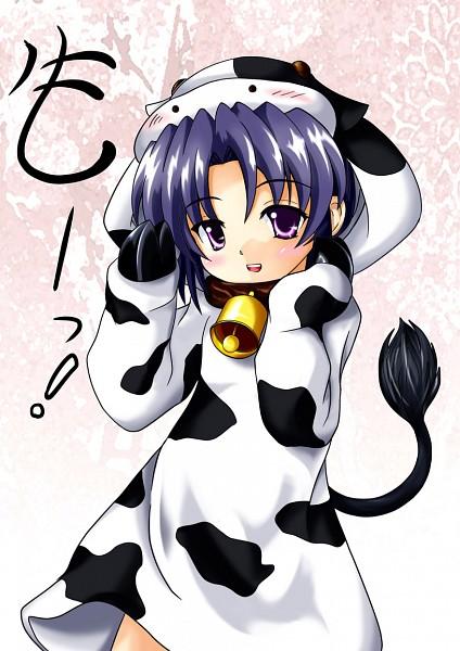 Cow Wallpaper Cute Ichinose Kotomi Clannad Image 948965 Zerochan Anime
