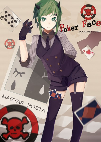 Vocaloid Anime Wallpaper Poker Face Vocaloid Mobile Wallpaper 913398