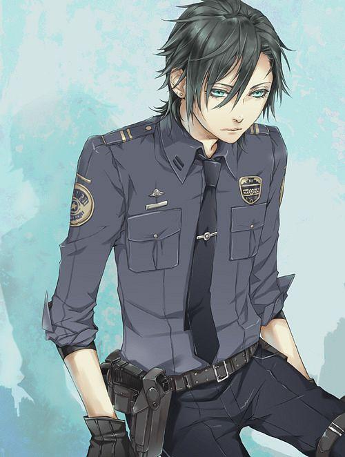 Wallpaper Engine Gun Anime Girl Police Uniform Zerochan Anime Image Board