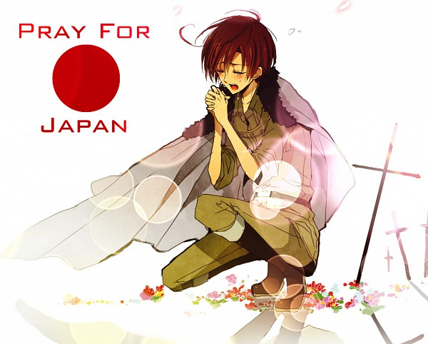 Anime Girl On Hands And Knees Wallpaper Praying Zerochan Anime Image Board