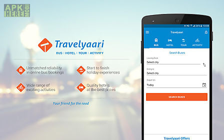 Travelyaari - bus booking app for Android free download at Apk Here - booking app
