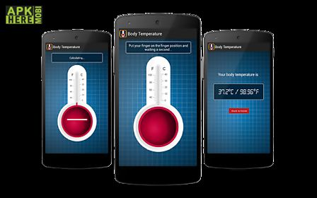 Finger body temperature prank for Android free download at Apk Here