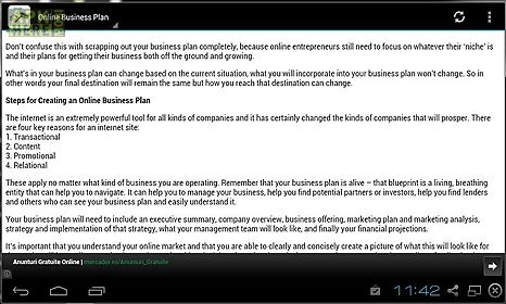 Online business plan for Android free download at Apk Here store