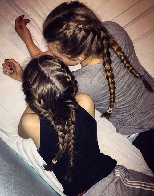Cute Together Forever Wallpaper Best Best Friends Nattes Adidas Hair Image 4142160