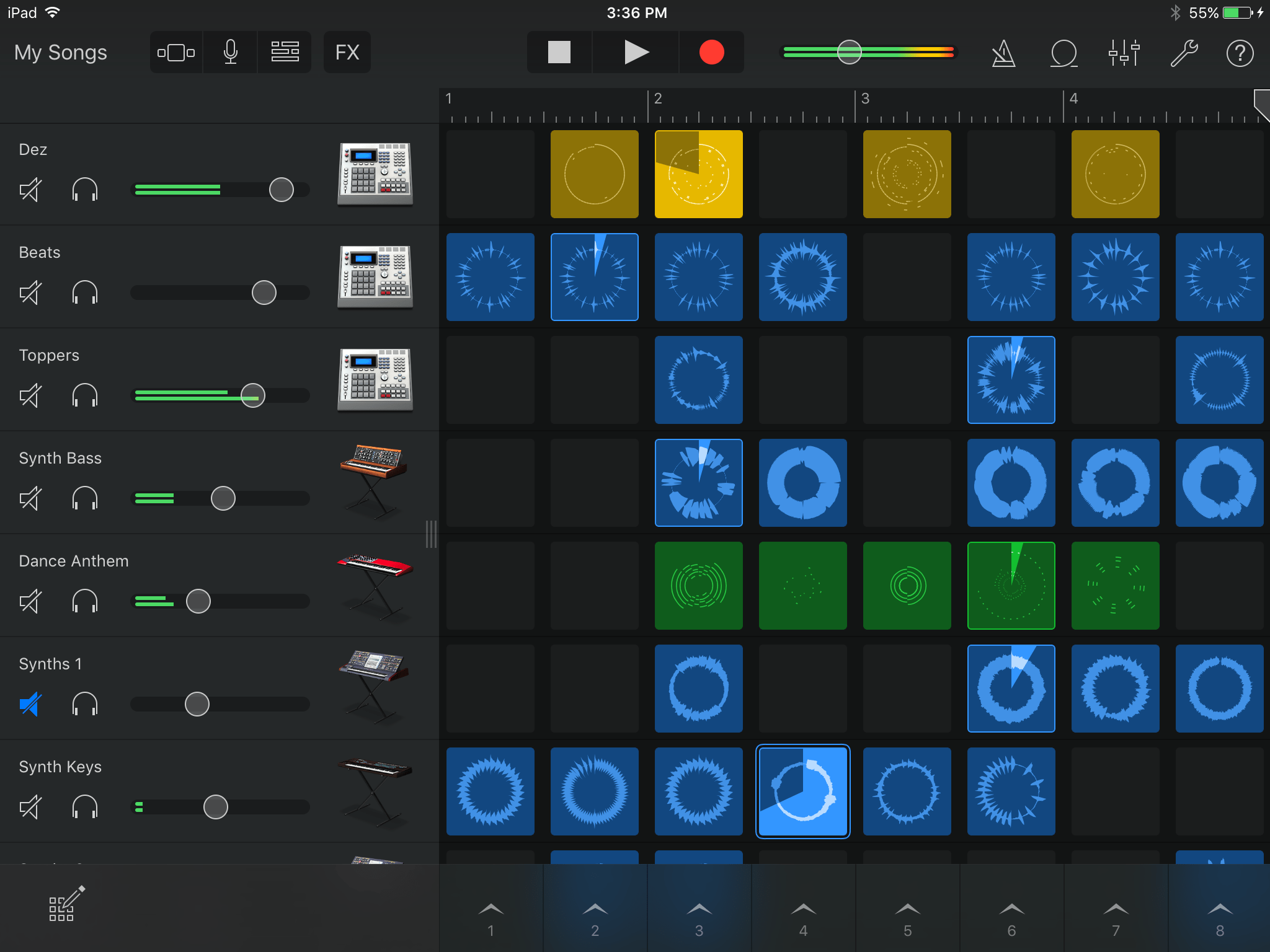 Garageband Loops Apple Garageband Review Ios 2 1 With Live Loops Remix Fx Dj