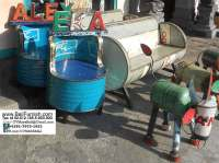 Recycled Oil Barrels Chairs from Bali Indonesia  Bali ...