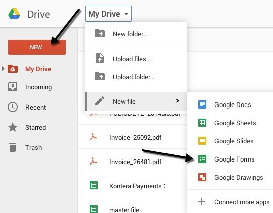 How to Create an Online Survey for Free using Google Docs - survey form