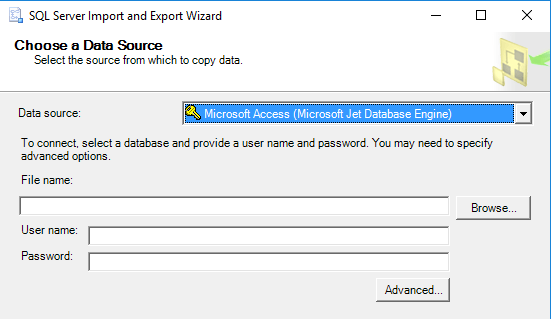 Migrate Data From Ms Access To Sql Server Database