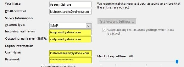 How to Access Yahoo! Mail using POP3 or IMAP