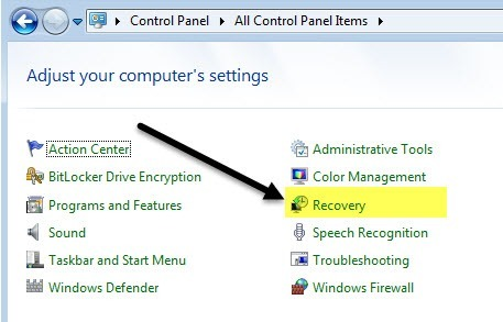 How to Restore Windows to Factory Settings - windows repair install