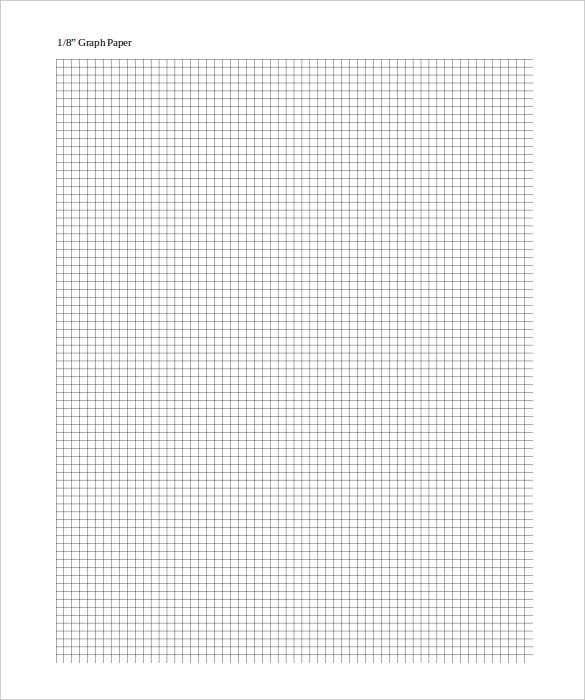 Free Printable Graph Paper Template, Excel, PDF, Examples, Sheet