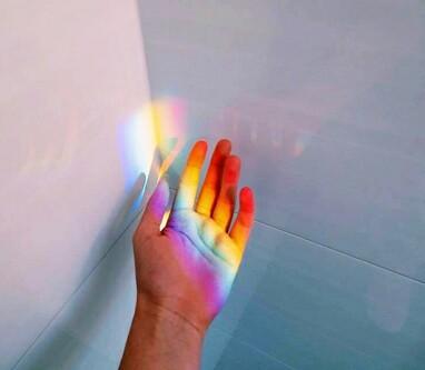 Boy Girl Kiss Hd Wallpaper Lgbt Tumblr Light Rainbow Beautifull Image 4230009