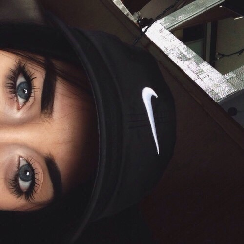 Nike Girl Wallpaper Iphone Girl Hat Flawless Nike Pretty Image 4240389 By