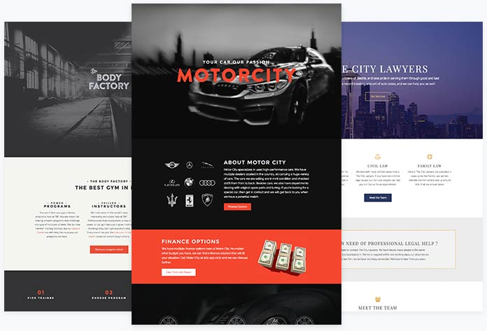 Responsive WordPress Templates - templates