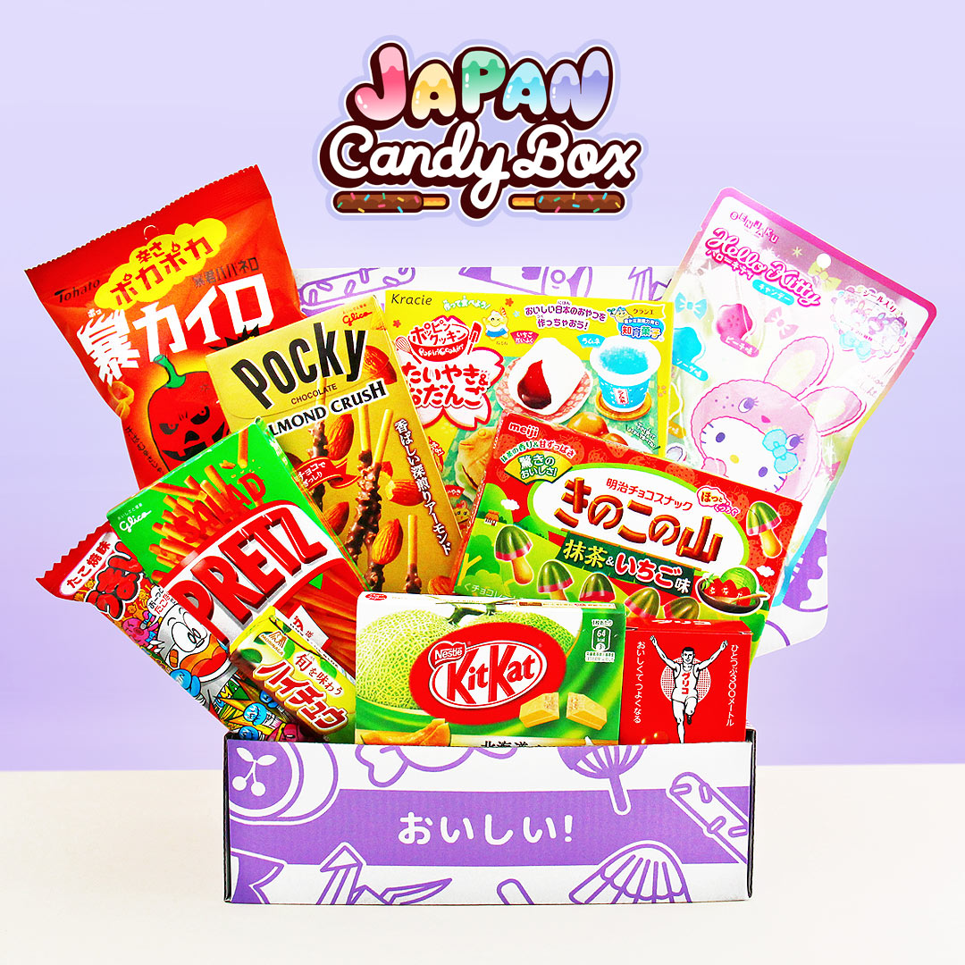 Japan Candy Box Monthly Tokyo Treats Fun Japanese Snacks
