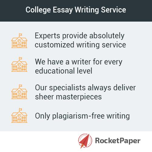College Essay Help - College Essay Writing Service RocketPapernet