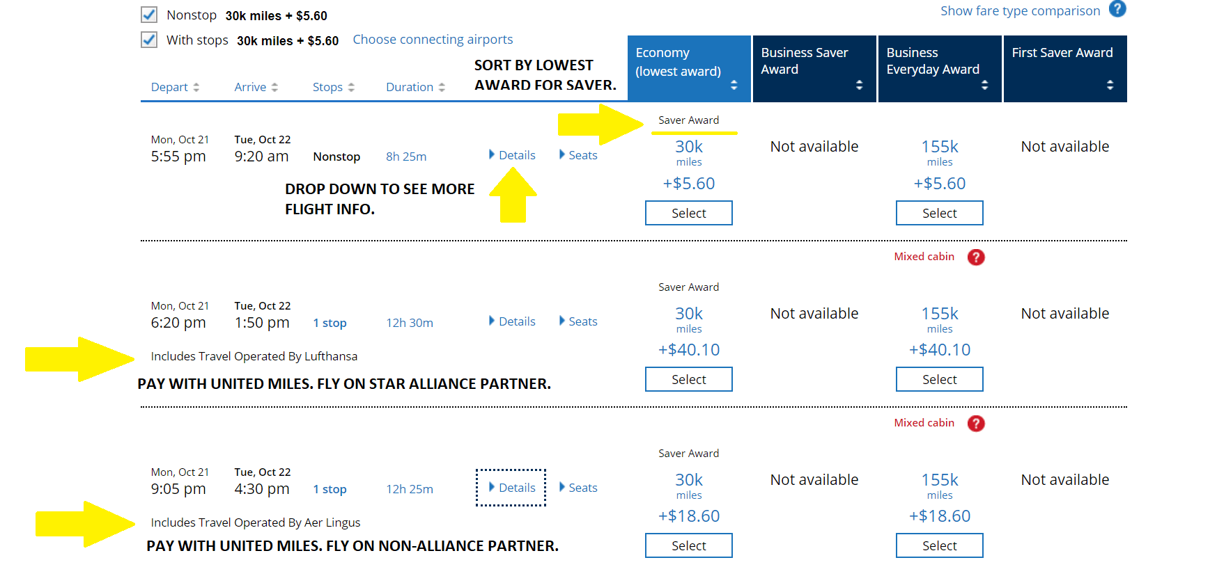 Miles And More Upgrade Chart Redeeming United Miles For The Best Value The Globetrotting Teacher