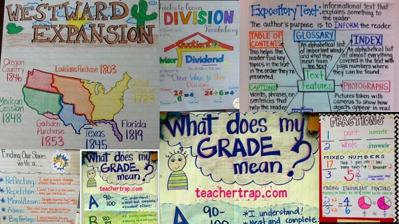 5th Grade Anchor Charts to Try in Your Classroom