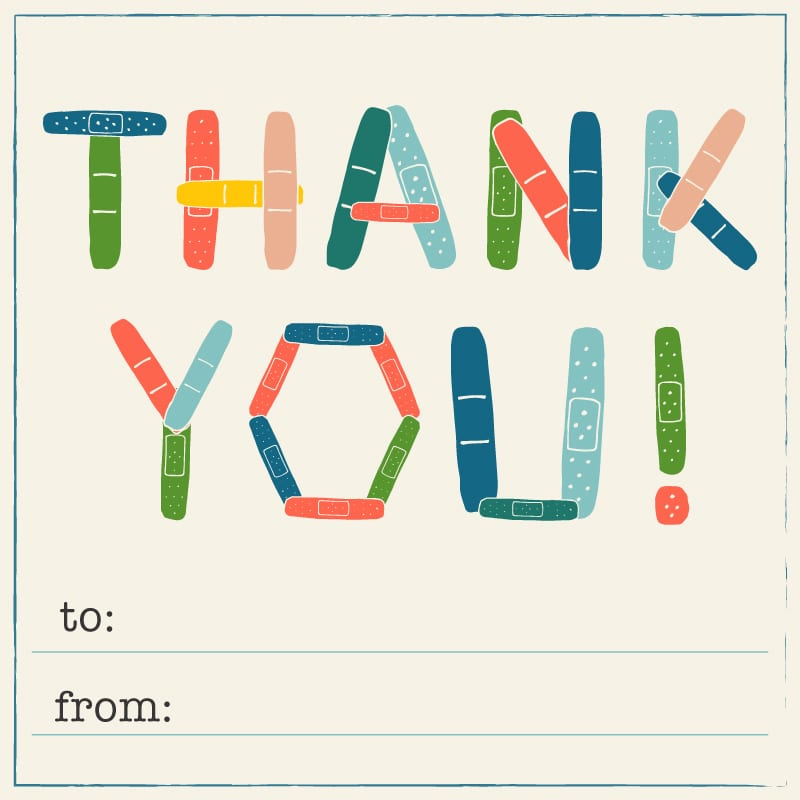 School Thank-You Cards for Custodians, Librarians and Other Staff We