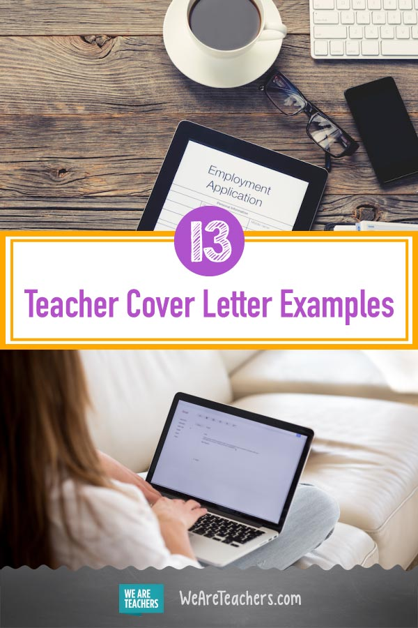 examples of cover letters for teaching