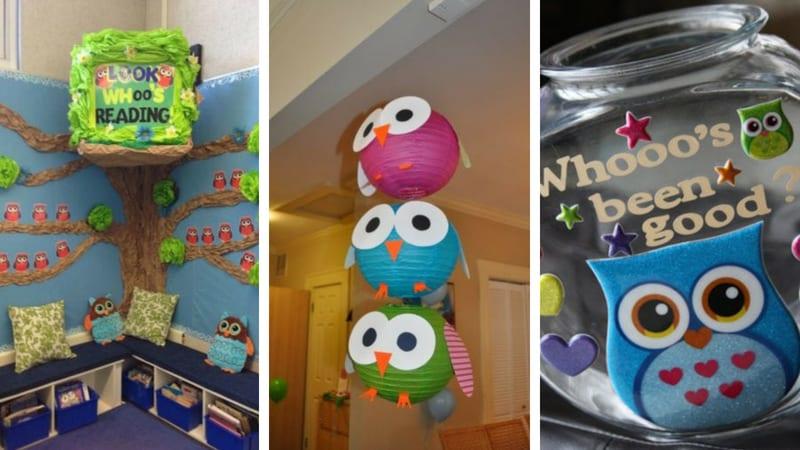 Owl-Themed Classroom Ideas - Classroom Bulletin Boards and Decor