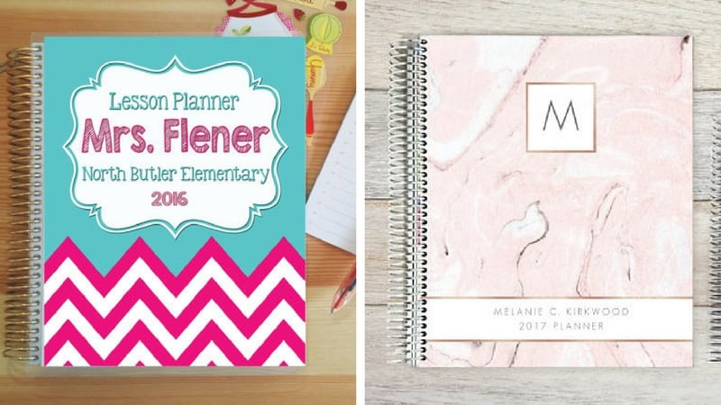 10 Awesome Planners for Teachers Erin Condren, Lesson Plans, Etc