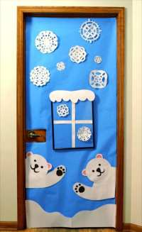 Winter Wonderland Classroom Door Decorating Ideas. Trendy ...