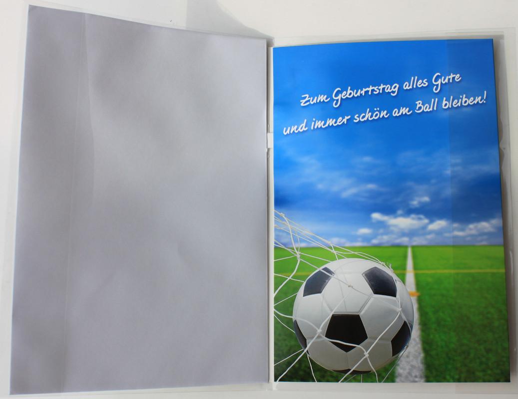 Kinder Geburtstagskarte Fussball Alles Gute Zum Geburtstagskarte