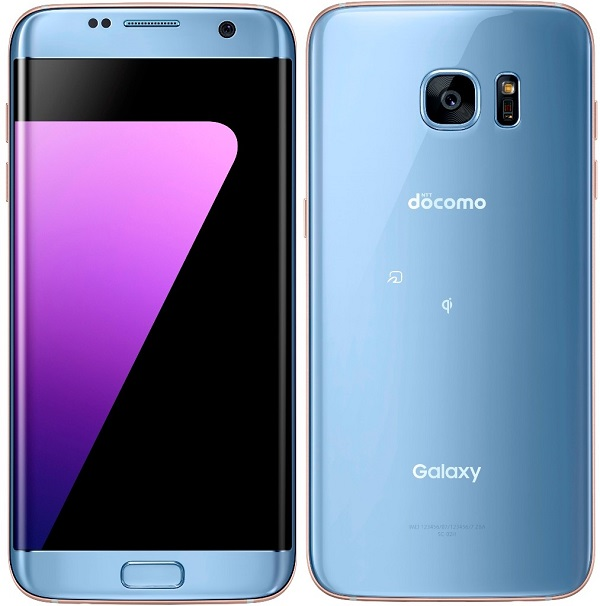 SAMSUNG SC-02H SCV33 GALAXY S7 EDGE ANDROID PHONE UNLOCKED BLUE NEW
