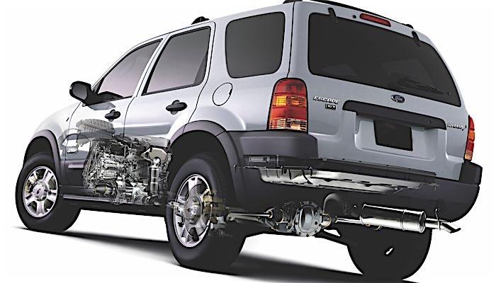 Alignment  Suspension Specs Ford Escape 2001-2010