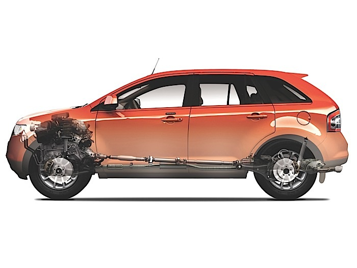 Ford Edge Brake Replacement - 2007-2014