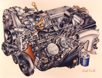 Tech Feature Cooler \u0027Heads\u0027 Prevail - Pouring Over GM\u0027s LT1 Engine