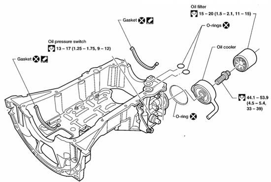 nissan pathfinder engine diagram