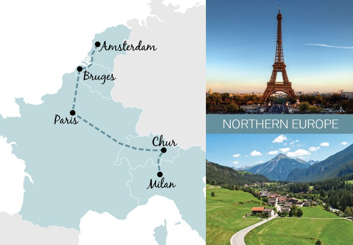 Europe by train Five great one-week rail trip routes \u2013 On the Luce
