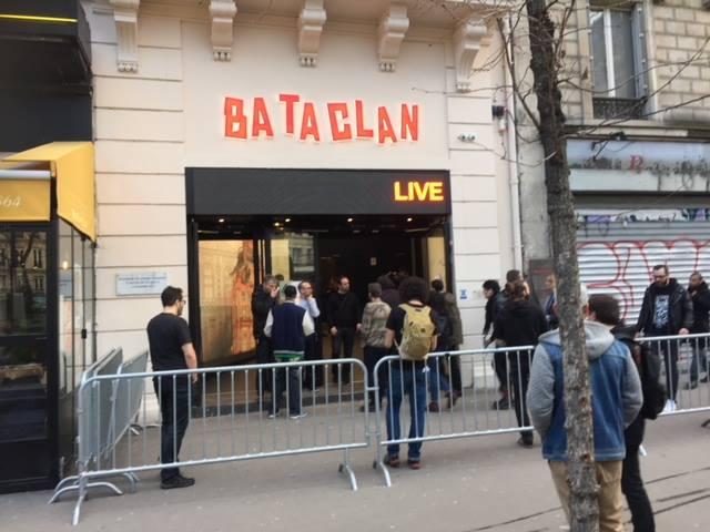 パリ、テロの現場バタクラン劇場