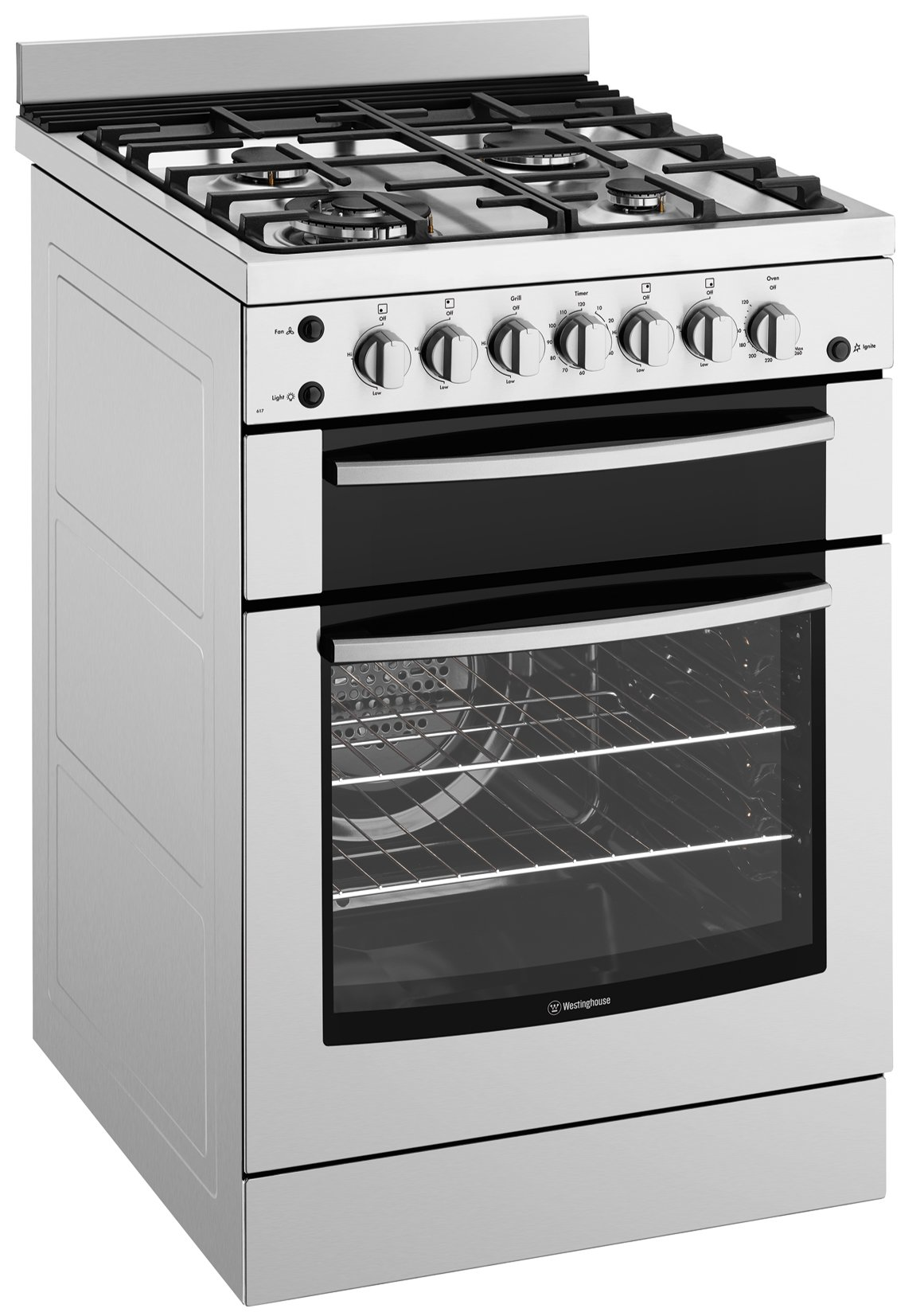 Herd Ofen Westinghouse Wfg617sa Freestanding Gas Oven Stove