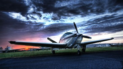 Wallpaper Small private aircraft 1920x1080 Full HD 2K Picture, Image