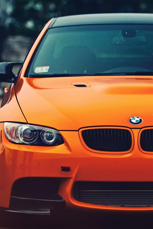 Bmw E30 Iphone Wallpaper Wallpaper Bmw M3 Orange Car Front View 2560x1600 Hd