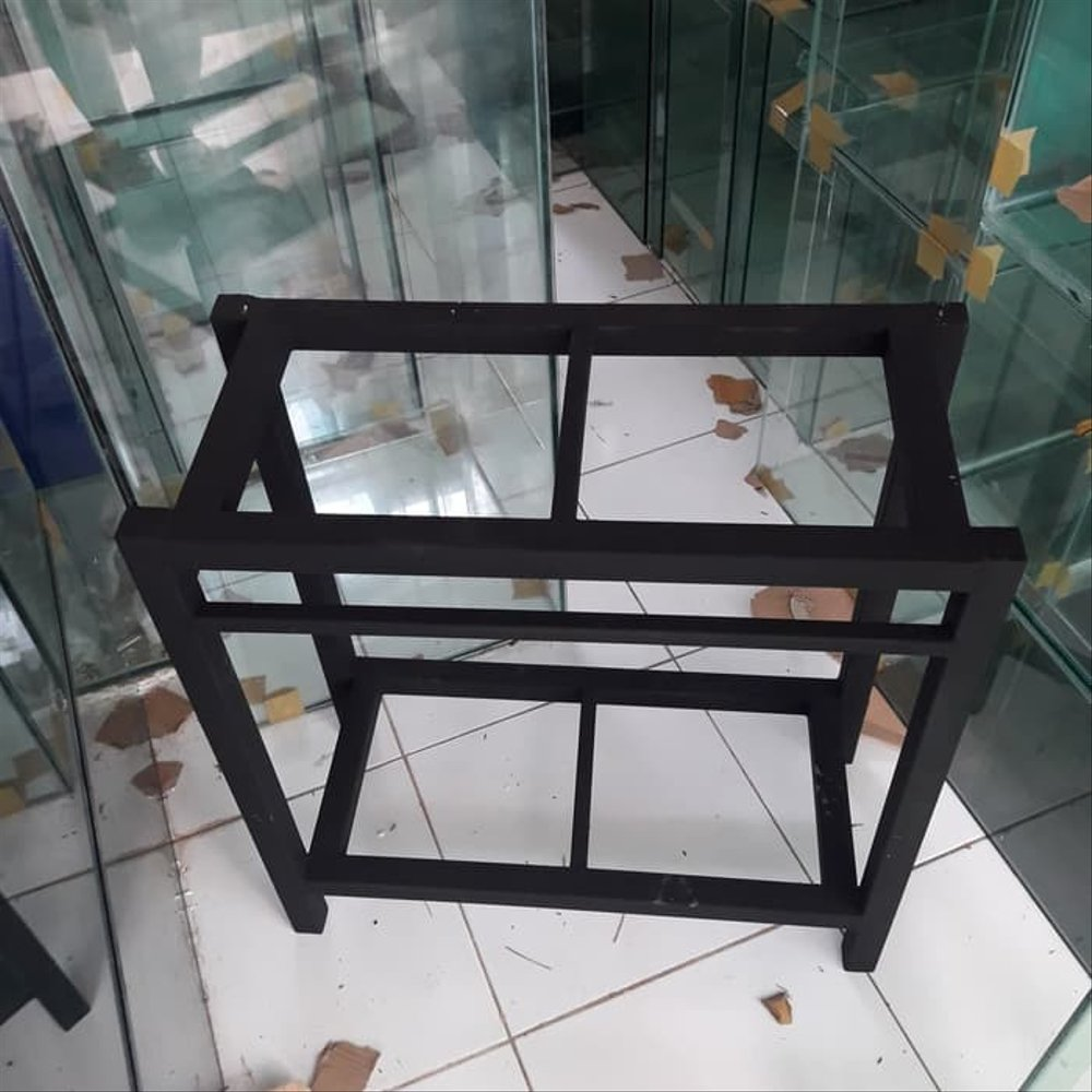 Rak Dari Besi Hollow Rak Besi Aquarium Hollow 60x30