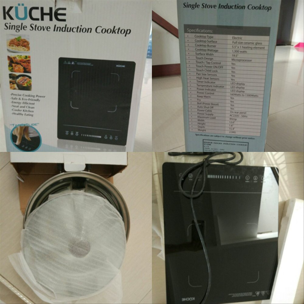 Kuche Store Jakarta Kuche Single Stove Induction Cooktop