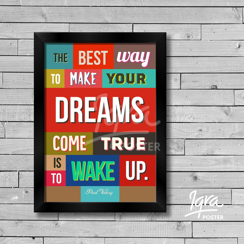 Wallpaper Dinding Tangga Jual Poster Dan Bingkai Kata Motivasi - The Best Way