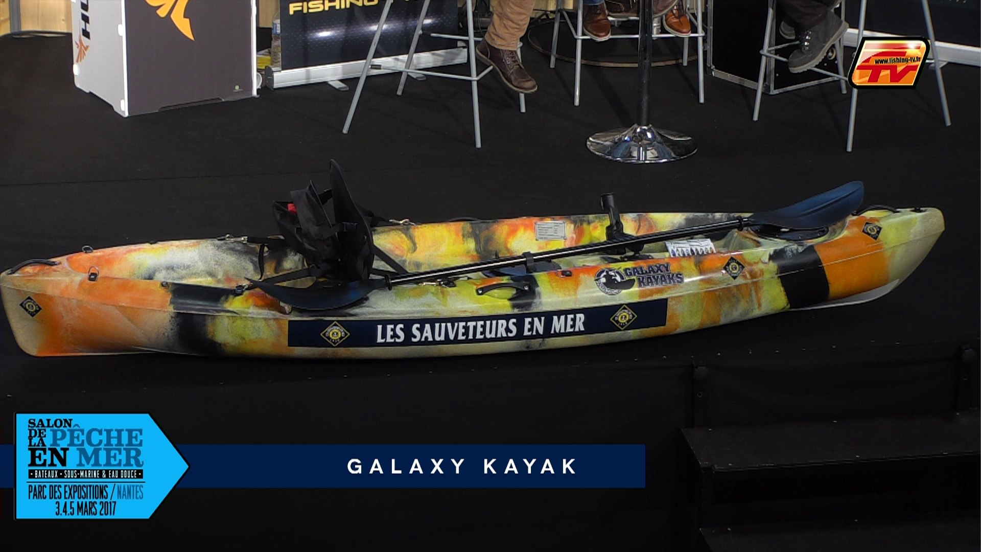 Salon Peche Nantes Salon Peche En Mer 2017 Galaxy Kayak