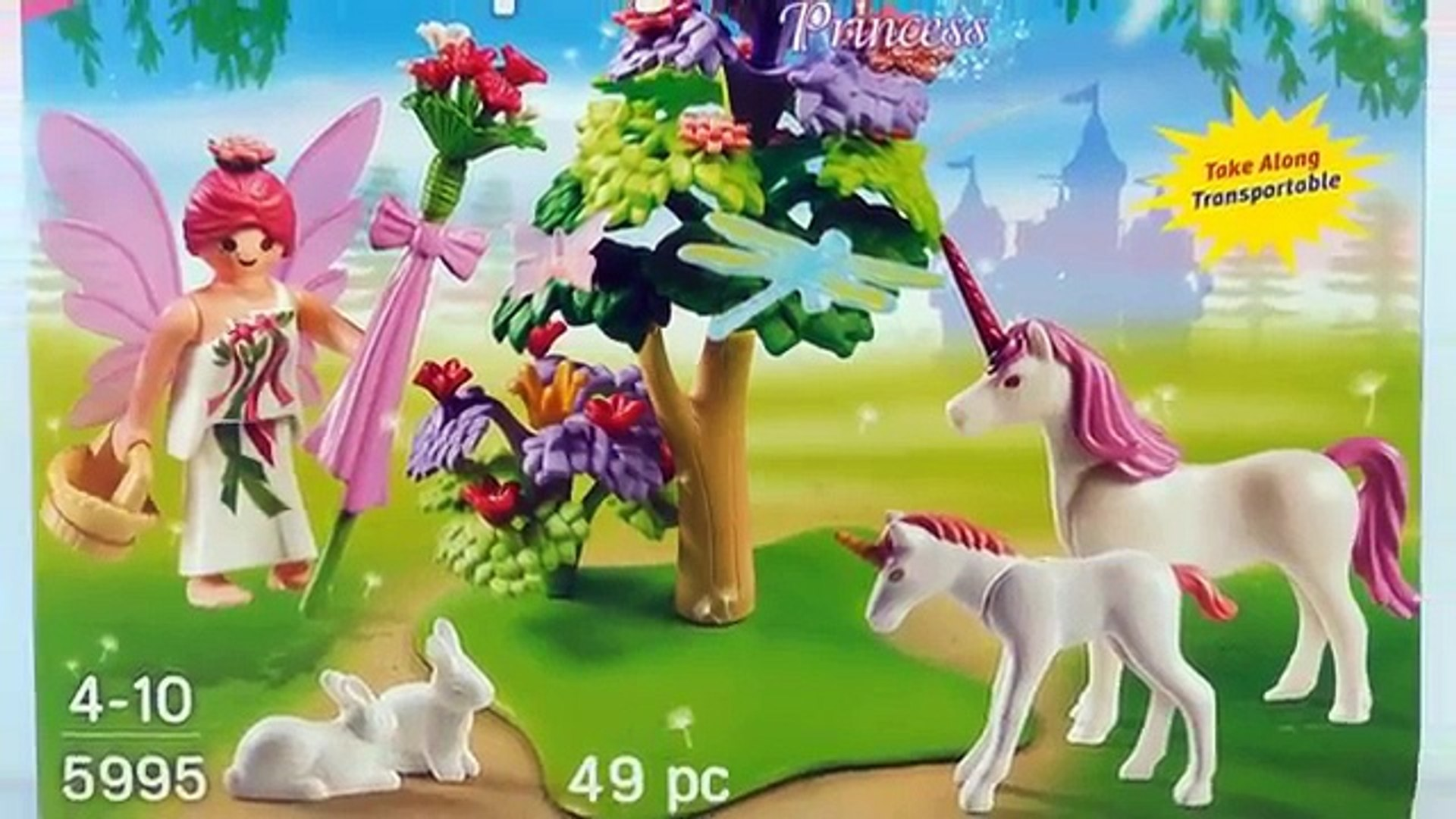 Playmobil Princess 5475 Magic Crystal Lake Playmobil Princess Prinzessin Fairy Garden With Unicorn Fantasy 5995 Pink Playset Toy Opening