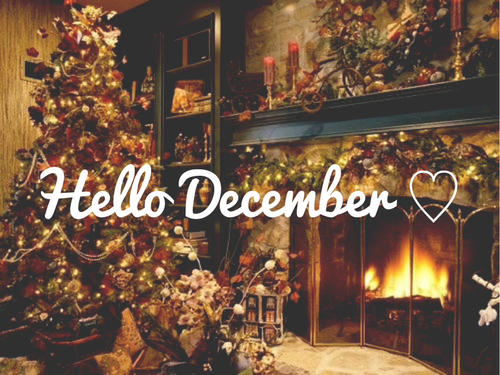Iphone Sayings Wallpaper Hello December Image 1652459 By Aaron S On Favim Com